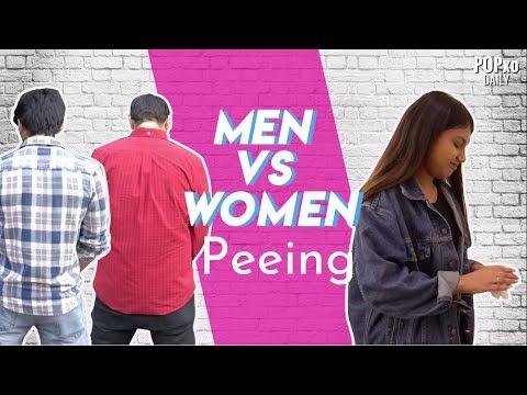 Men Vs Women Peeing - POPxo
