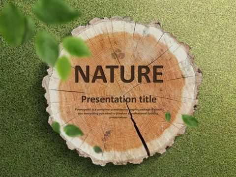 Nature Animated PPT Template