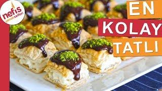 Dünya'nın En Kolay Tatlı Tarifi - Az malzeme ile kısa sürede - Nefis Yemek Tarifleri