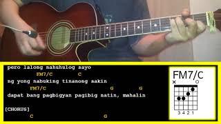 Biyahe by Josh Santana-Guitar Chords