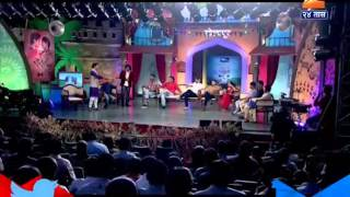 Chala Hawa Yeu Dya Making Funny Of Shanta Bai 22nd April 2016