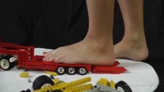 Slow Motion Lego Crush