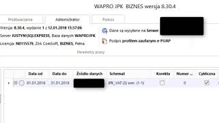 WAPRO JPK podpisanie profilem zaufanym ePUAP