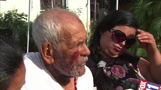 92-year-old grandpa beaten with brick reacts to arrest of his alleged attacker