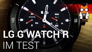 LG G Watch R im ausführlichen Test [DEUTSCH]