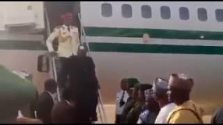 Baba Buhari ya dawo daga uk