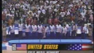 1992 Barcelona Olympics - Mens Basketball Medal Award Ceremony (Part 1)