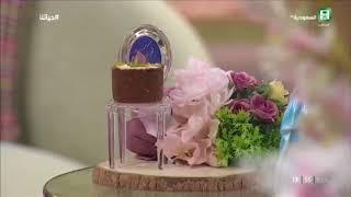 لمسات روز في صناعة الحلويات