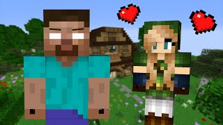If a Girl fell in Love with Herobrine - Minecraft