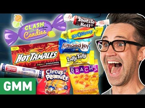 Worst Halloween Candy Taste Test Day 2