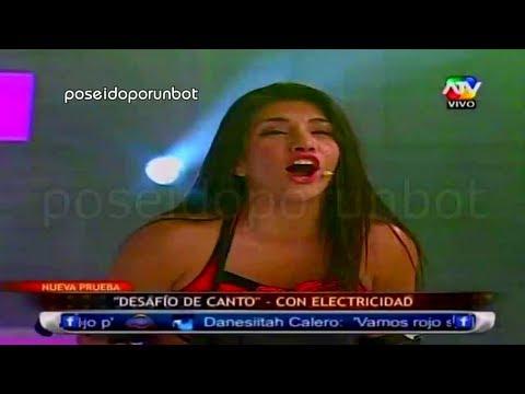 COMBATE Yidda vs Diana en el Desafio de Canto con Electricidad 24 05 13