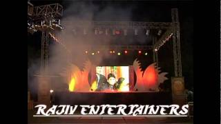 Back Drop With LED Screen n LED Lights By Rajiv Entertainers.flv