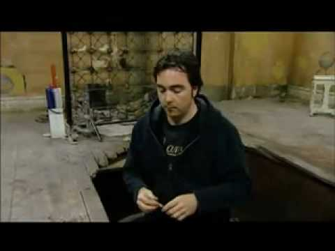 SAW II making of The Needle Pit Scene