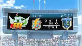 Inazuma Eleven episode 72 Crest the Big Wave! Part 2