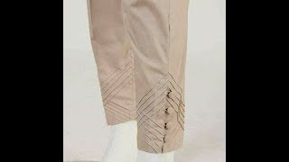 Latest Trousers Designs Don't Miss