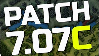 Dota 2 NEW 7.07c PATCH - All Changes!