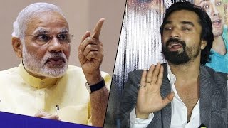 Ajaz Khan SLAMS PM Narendra Modi In Public On India - Pakistan Relation