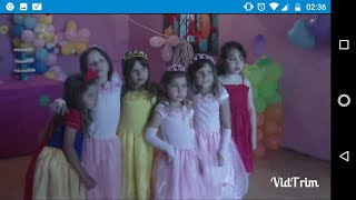 Minha festa de aniversário de 7 anos (2012)