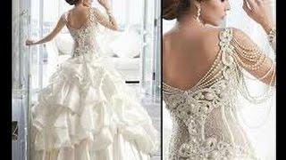 اجمل مجموعة فساتين زفاف لعام 2015