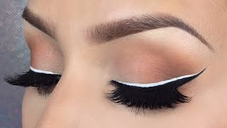 black white eyeliner tutorial