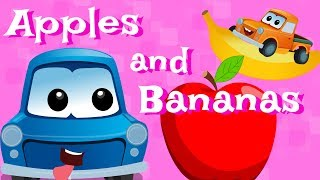 Zeek And Friends | Apple And Bananas | Nursery Rhymes For Kids And Babies