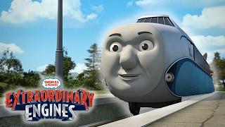 Hugo The Rail Zeppelin Arrives on Sodor | Extraordinary Engines | Thomas & Friends