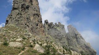 Hiking Corsica Randonnée Corse  Bavella 2016 HD