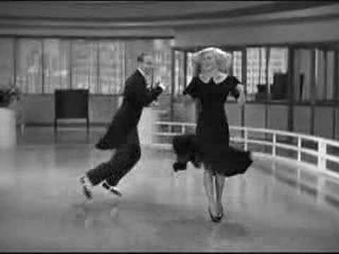 Swing Time Rogers and Astaire