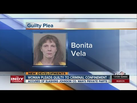 Woman accused of cutting man's penis pleads guilty