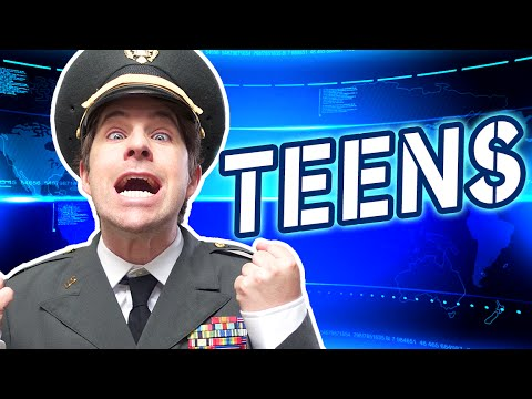 IF TEENS RULED THE WORLD