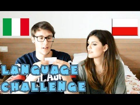 Xxx Mp4 LANGUAGE CHALLENGE ITALIAN VS POLISH WITH MY GIRLFRIEND 3gp Sex