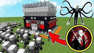100.000 SLENDERMANS APARECERAM NA FLORESTA ASSOMBRADA DO MINECRAFT!! CREEPYPASTA SLENDERMAN