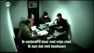 Prank on a Belgian call center  (with captions in English)