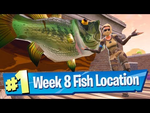 Dance With A Fish Trophy Locations - Fortnite Season 6 Week 8 Challenge Guide!