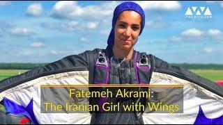 Fatemeh Akrami: The Iranian Girl with Wings