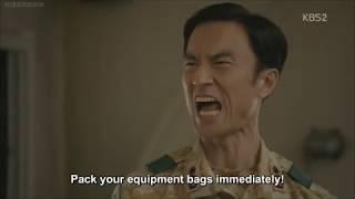 Descendants of the Sun Episode 8 - funny scene cut [English subbed]