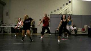 "LEOS HIP HOP DANCE CLASS . BRITNEY SPEARS ""CIRCUS"" VID # 2"