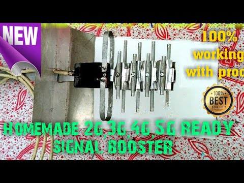 Xxx Mp4 How To Make 2g 3g 4g 5g Ready Antenna Signal Booster At Home By The Techie Tech 3gp Sex
