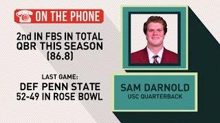 Gottlieb: Sam Darnold talks Rose Bowl win