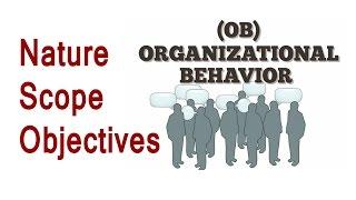 Organisational Behavior Nature and Scope [Hindi]