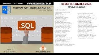 Curso de Linguagem SQL - Aula 02 - Iniciando com Banco Mysql
