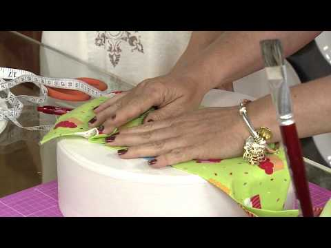 Aprenda a fazer um lindo porta bolo