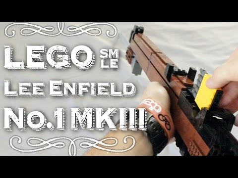 LEGO Lee Enfield No.1 MKIII SMLE With Bayonet Scope