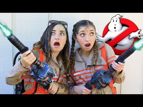 Ghostbusters Parody for Halloween | Brooklyn and Bailey