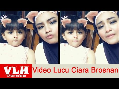 Video Lucu Ciara Brosnan Pemeran Lolly di Sinetron Bintang Di Hatiku