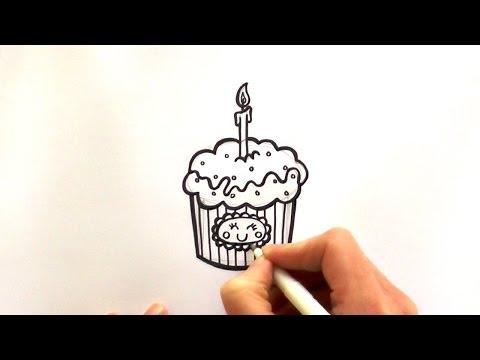 Xxx Mp4 How To Draw A Cartoon Birthday Cupcake 3gp Sex