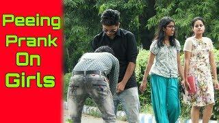 PEEING PRANK ON HOT GIRLS (epic reaction) | PRANK IN INDIA | FUNDAY PRANKS