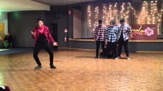 Funny dance at Kisa's 21st birthday : Vatos Locos (ft. Atele, Maligi, Ty, Les , Dom , Paul and Tii)