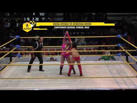 Xxx Mp4 Diosa Atenea Vs Keneisha Moon Campeonato Mundial WWS 3gp Sex
