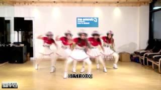 Crayon Pop - BAR BAR BAR Dance Tutorial Step 01 SLOW